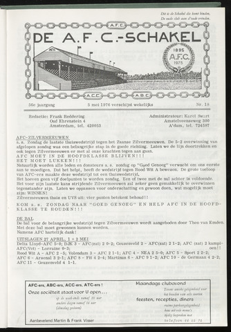 Schakels (clubbladen) 1976-04-28