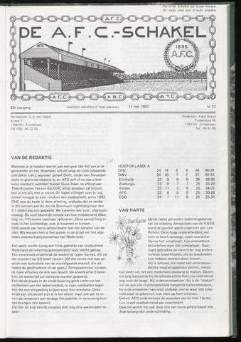 Schakels (clubbladen) 1983-05-11