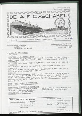 Schakels (clubbladen) 1976-11-24