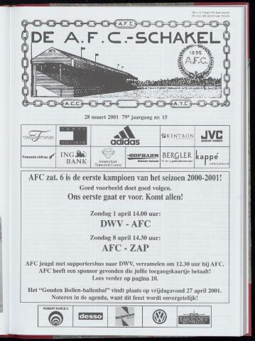 Schakels (clubbladen) 2001-03-28
