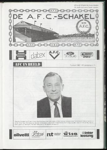 Schakels (clubbladen) 1987-01-07