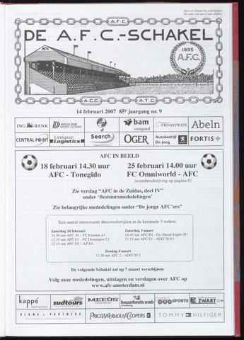 Schakels (clubbladen) 2007-02-14