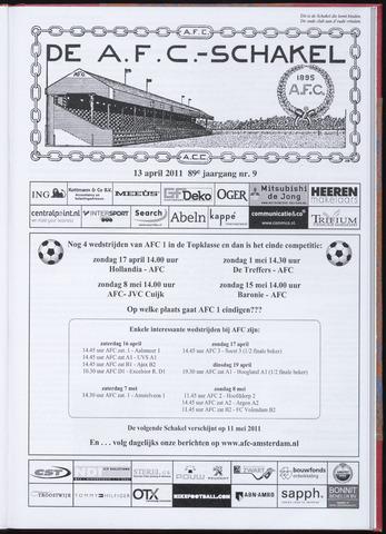 Schakels (clubbladen) 2011-04-13