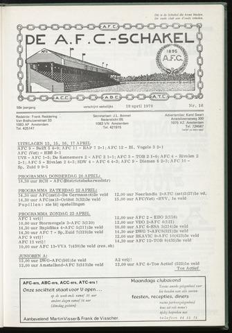 Schakels (clubbladen) 1978-04-19