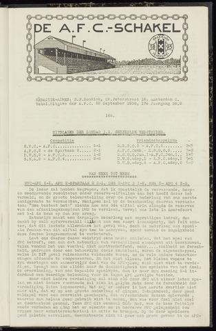 Schakels (clubbladen) 1938-09-22
