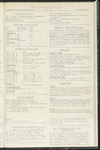 Bulletins (vnl. opstellingen) 1958-04-15