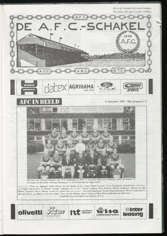 Schakels (clubbladen) 1987-09-09