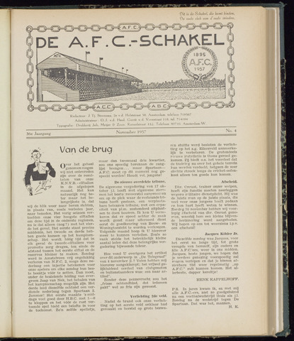 Schakels (clubbladen) 1957-11-01