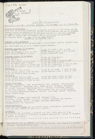 Bulletins (vnl. opstellingen) 1965-11-24