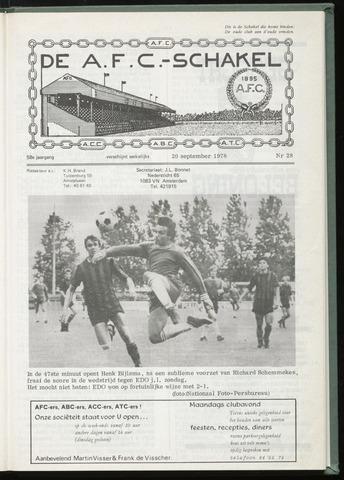 Schakels (clubbladen) 1978-09-20