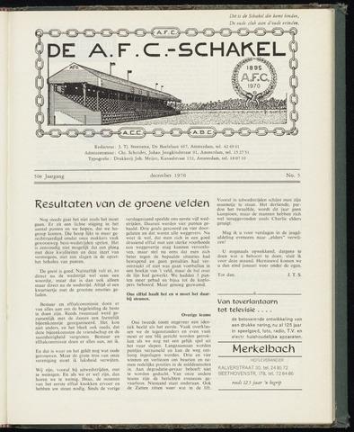 Schakels (clubbladen) 1970-12-01
