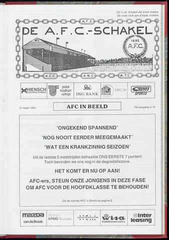 Schakels (clubbladen) 1993-03-31