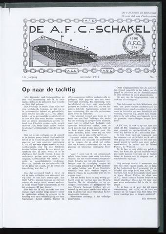 Schakels (clubbladen) 1974-11-01