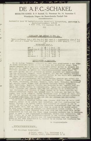 Schakels (clubbladen) 1943-06-04