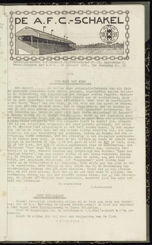 Schakels (clubbladen) 1941-01-16