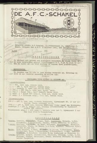 Schakels (clubbladen) 1941-10-09