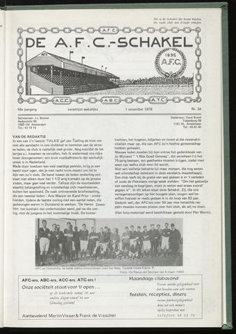 Schakels (clubbladen) 1978-11-01