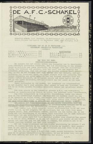 Schakels (clubbladen) 1937-09-23