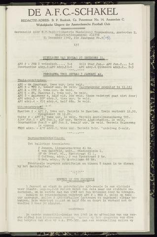 Schakels (clubbladen) 1942-12-31