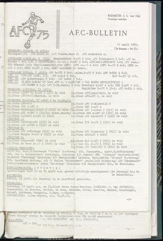 Bulletins (vnl. opstellingen) 1968-04-10
