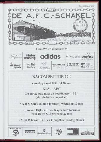 Schakels (clubbladen) 1999-05-05