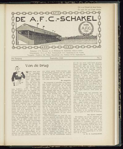 Schakels (clubbladen) 1960-09-01
