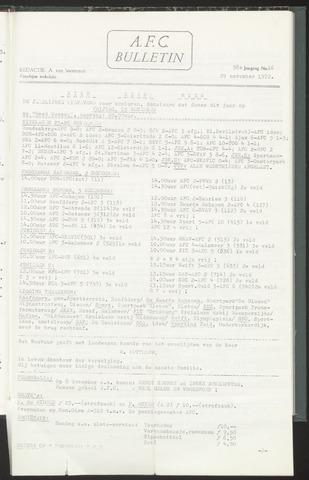 Bulletins (vnl. opstellingen) 1972-11-29
