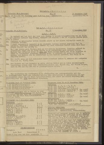 Bulletins (vnl. opstellingen) 1948-12-09
