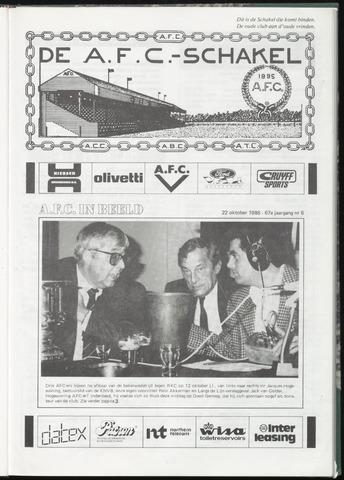 Schakels (clubbladen) 1986-10-22