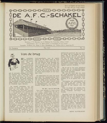 Schakels (clubbladen) 1957-05-01