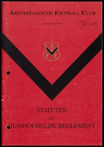 Statuten en reglementen 2001-07-01