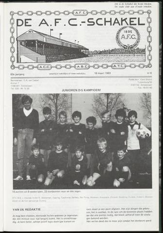 Schakels (clubbladen) 1983-03-16