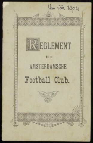 Statuten en reglementen 1904-01-01