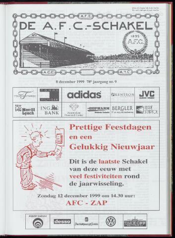 Schakels (clubbladen) 1999-12-08