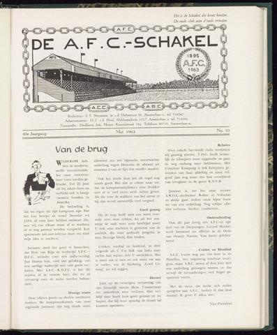 Schakels (clubbladen) 1963-05-01