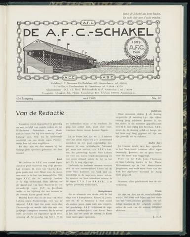 Schakels (clubbladen) 1966-05-01