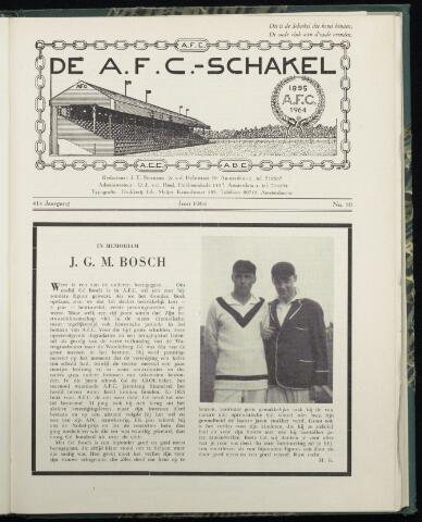 Schakels (clubbladen) 1964-06-01