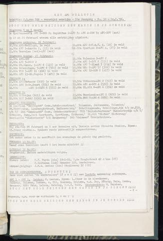Bulletins (vnl. opstellingen) 1966-02-23