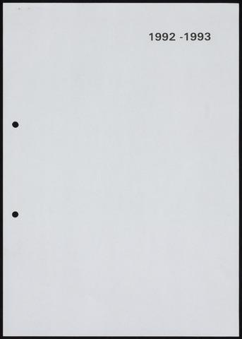 Jaarverslagen 1993-06-01