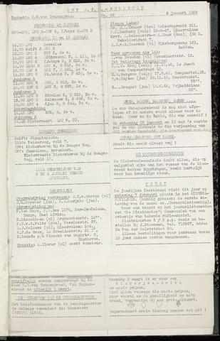 Bulletins (vnl. opstellingen) 1959-01-06