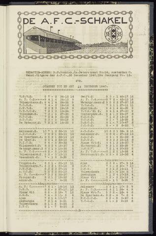 Schakels (clubbladen) 1940-12-26