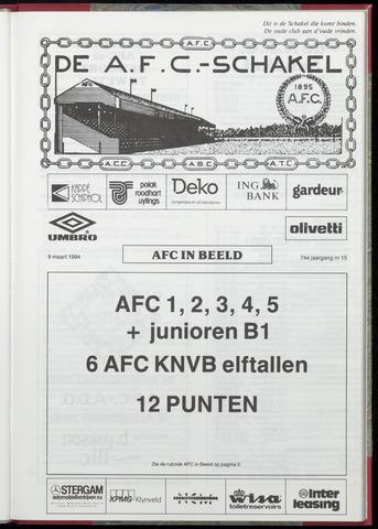 Schakels (clubbladen) 1994-03-09