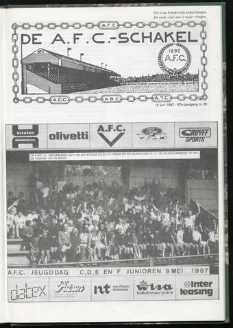 Schakels (clubbladen) 1987-06-10