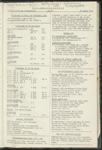 Bulletins (vnl. opstellingen) 1953-03-24