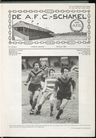 Schakels (clubbladen) 1981-01-28