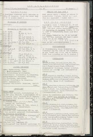Bulletins (vnl. opstellingen) 1960-12-13