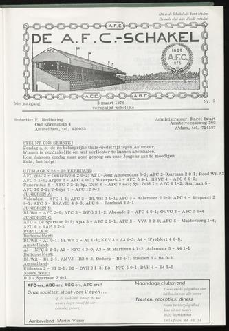 Schakels (clubbladen) 1976-03-03