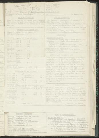 Bulletins (vnl. opstellingen) 1954-03-16