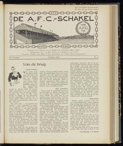 Schakels (clubbladen) 1956-10-01
