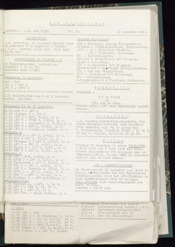 Bulletins (vnl. opstellingen) 1962-12-05